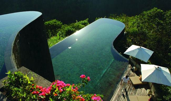 "Hotel ""Ubud Hanging Gardens Resort"", Bali, Indonesia."