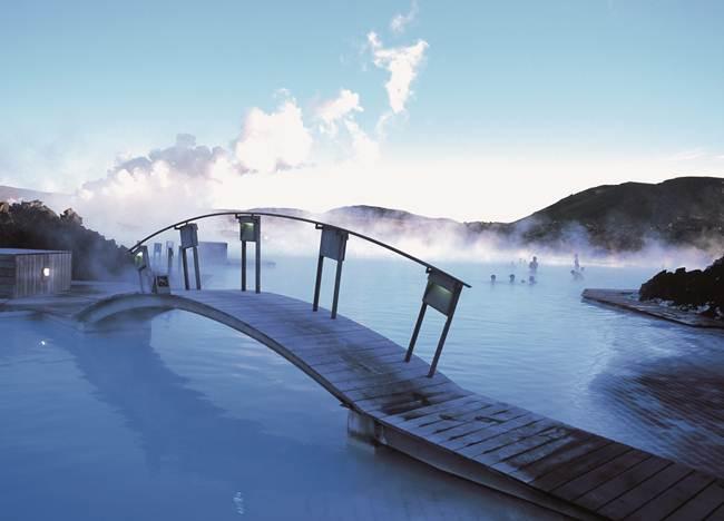 """Geothermal Blue Lagoon Spa"", Iceland."