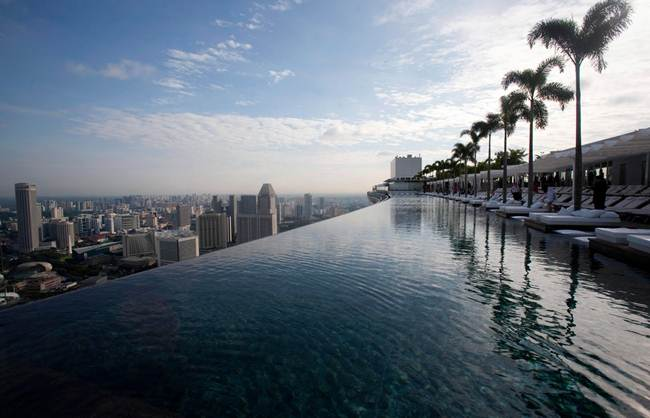 "Hotel ""Marina Bay Sands"", Singapore."