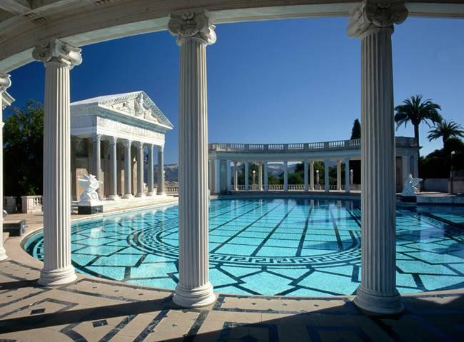 """""""The Neptune Pool"""", Hearst Castle."""