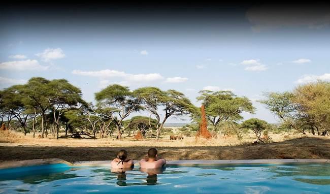 "Hotel ""Sanctuary Swala Camp Retreat"", Tarangire National Park, Tanzania."