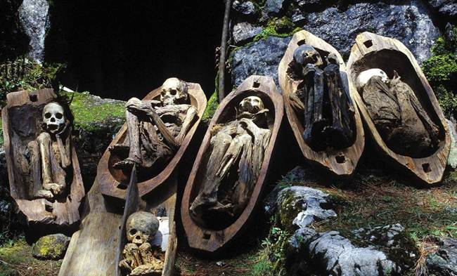 The Unique Kabayan Fire Mummies