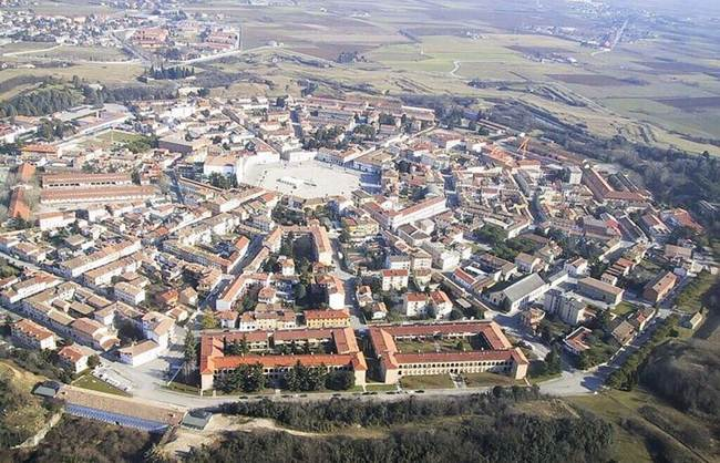 Palmanova fortress town, The strategic location of war