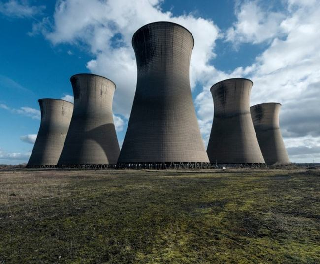 Europe's abandoned cooling towers
