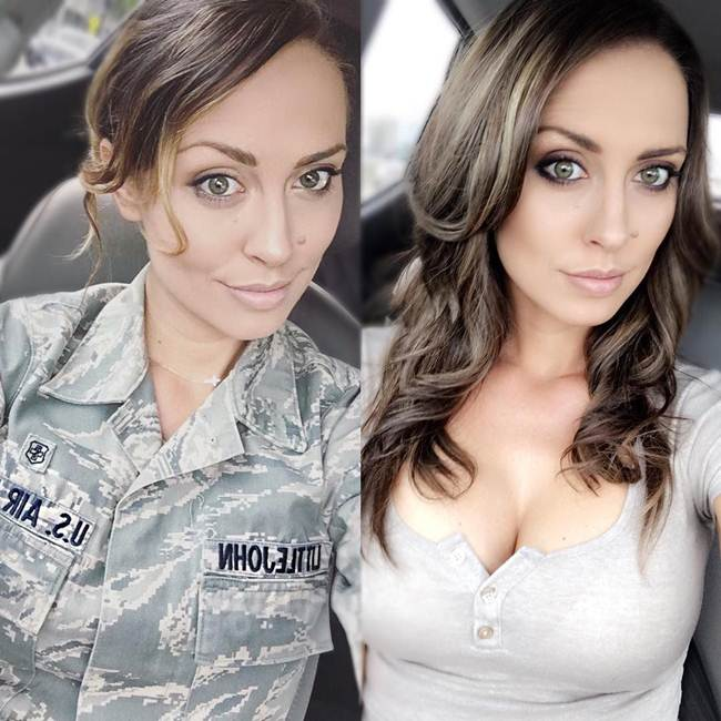 Charissa Littlejohn the most glamorous sergeant of US Air Force