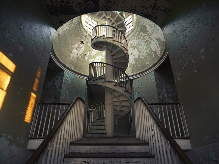 The beauty of abandoned buildings