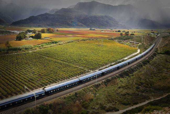 14 ROVOS RAIL SOUTH AFRICA