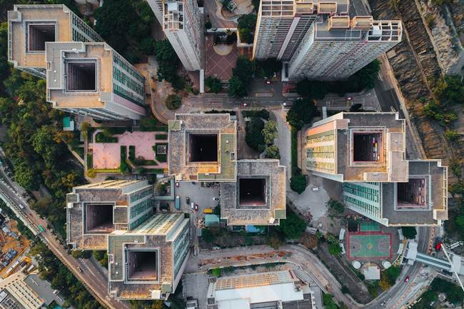 Aerial-View-of-Hong-Kong-show-the-city-senseless-urban-planning-003
