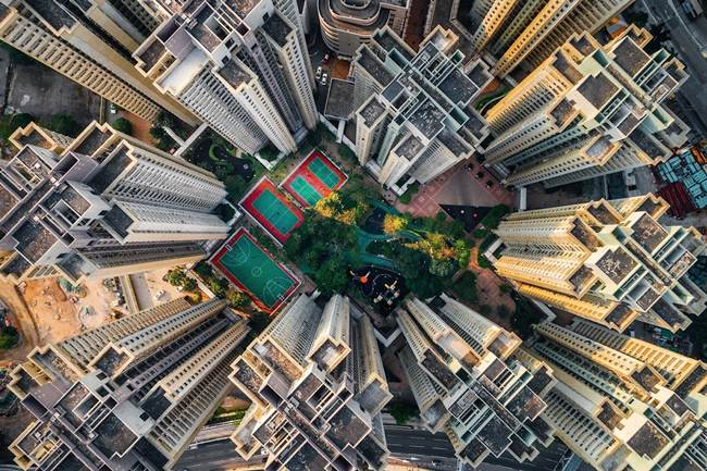 Aerial-View-of-Hong-Kong-show-the-city-senseless-urban-planning-005