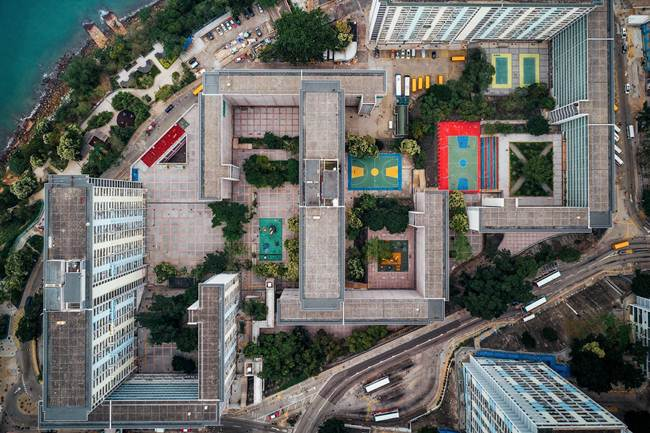 Aerial-View-of-Hong-Kong-show-the-city-senseless-urban-planning-007