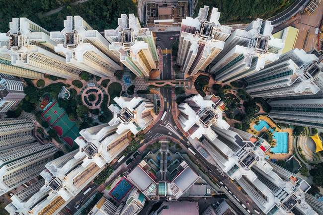 Aerial-View-of-Hong-Kong-show-the-city-senseless-urban-planning-008