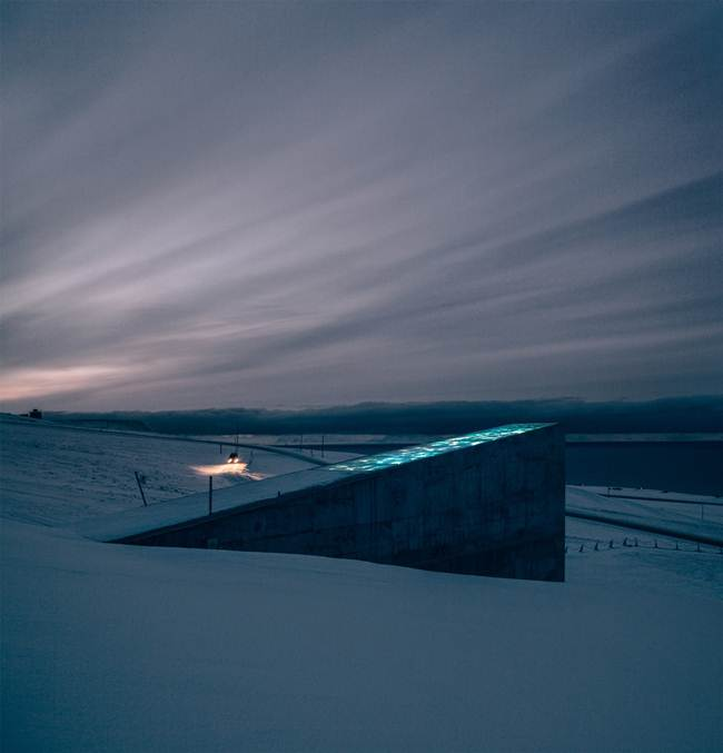 Svalbard Global Seed Vault — A backup of the world on the Norwegian Archipelago