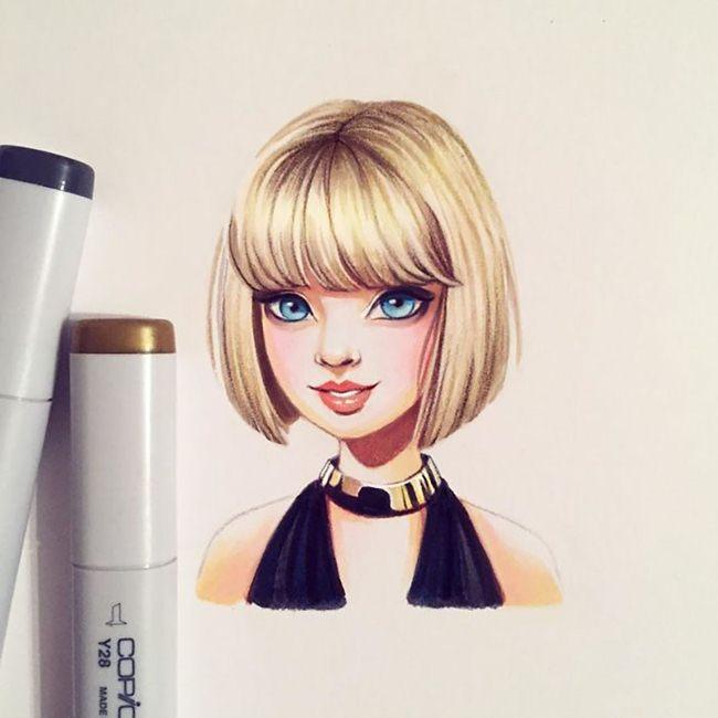Lera-Kiryakova-Celebrity-illustrations-Art-013