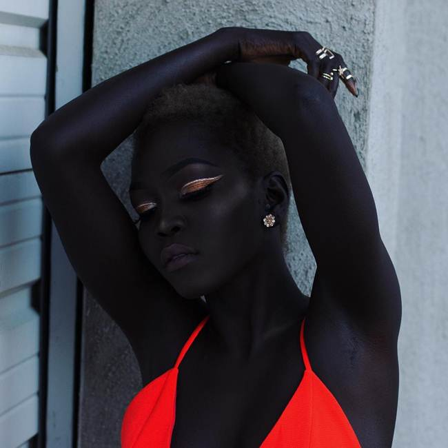 Nyakim Gatwech | The Queen of Dark, South Sudanese Model