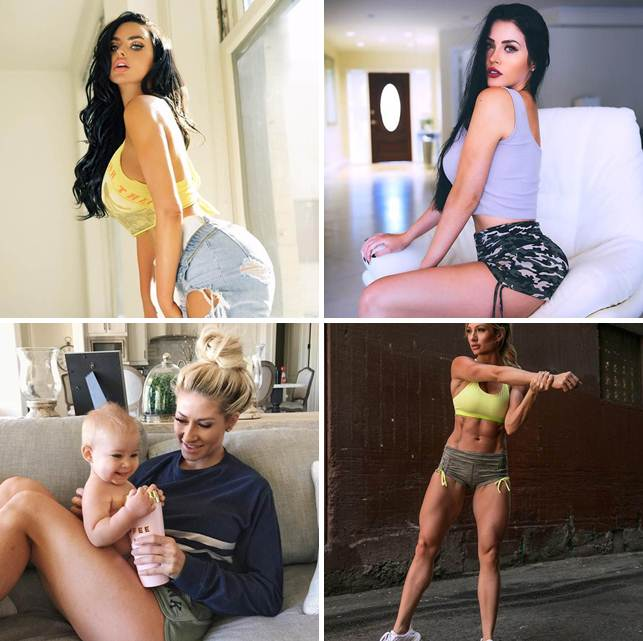 The 10 polular girls, who became millionaires thanks to Instagram!