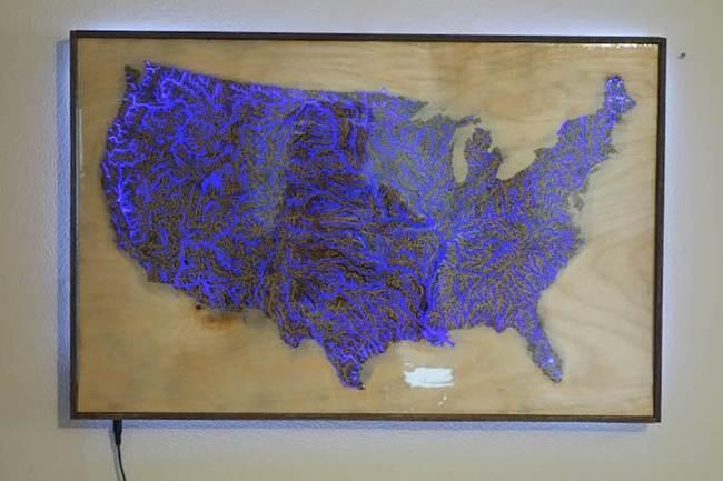 Illumination map of US waterways – Gudsol