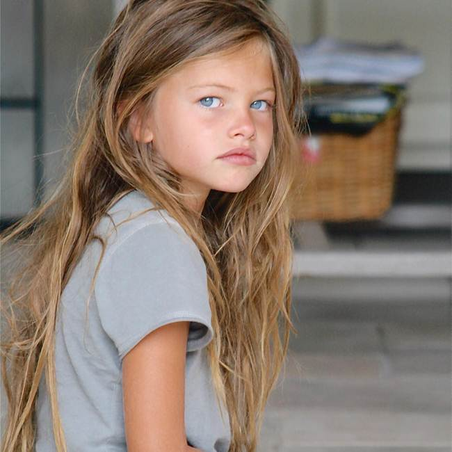 Pretty 16-year-old Thylane Blondeau | In the age of 6 she was awarded for the title of the most beautiful girl in the world