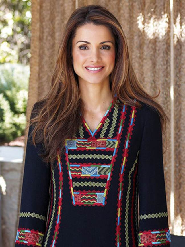 05 Queen of Jordan Rania Al-Abdullah