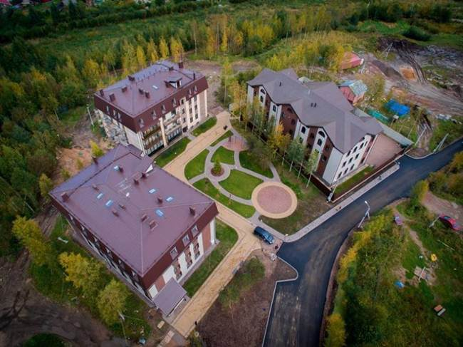 Veda Village – A Vegetarian-Only Apartment Complex in Russia