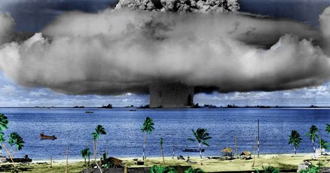 What Will Happen To The World If A Hydrogen Bomb Explodes In The Pacific?