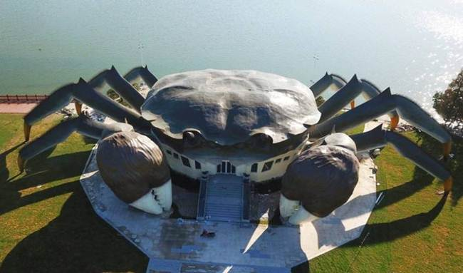Crab Museum | Strange Crab Building in China