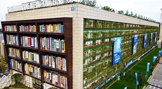 """""""Bookshelf """"Building in Zhejiang, China"""