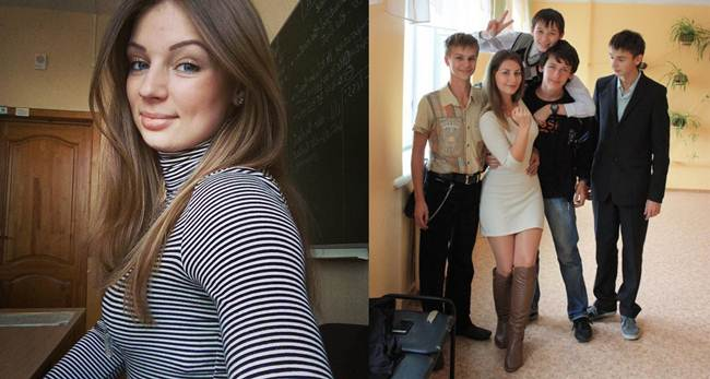 18 most beautiful teachers