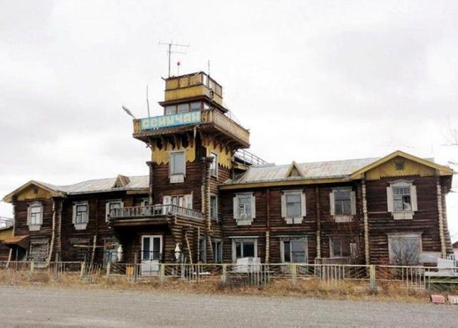Old Operating Airports of Rural Russia in Wooden Huts