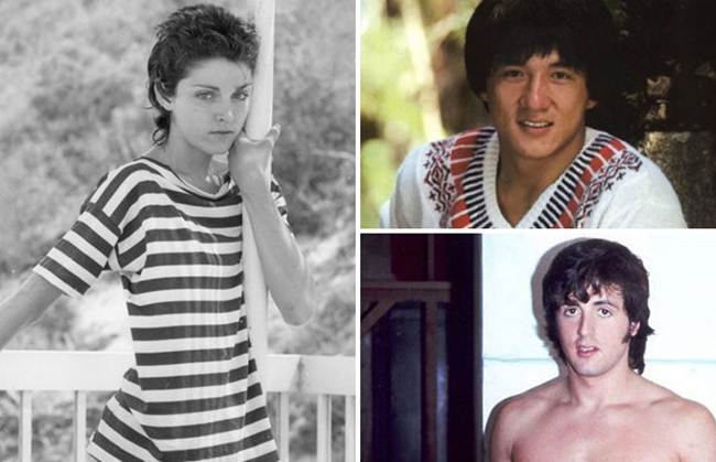 17 Unseen Photographs of Celebrities