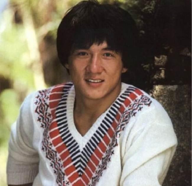 Jackie Chan, 23 years old