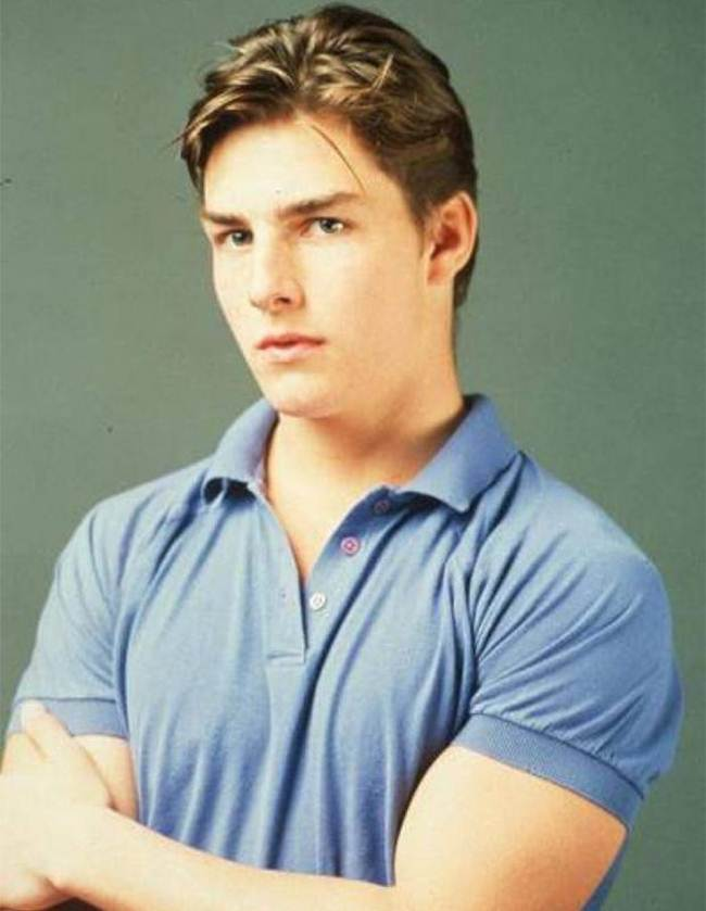 Tom Cruise, 22 years old