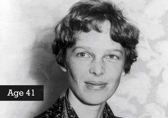 03.amelia earhart - american writer and pilot