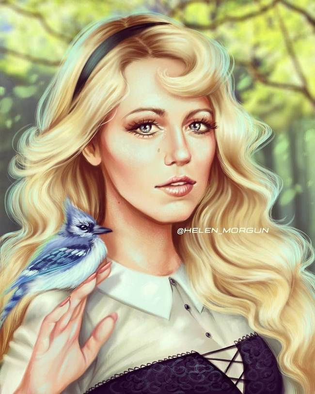How Hollywood celebrities look like if they become Disney princesses