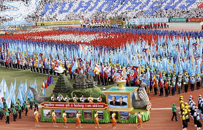 Cambodia marks the 40th anniversary of 'Victory Day'