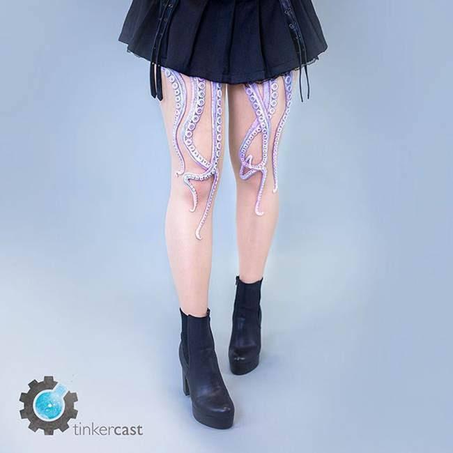 Unique Tentacle Leggings by Daniel Struzyna