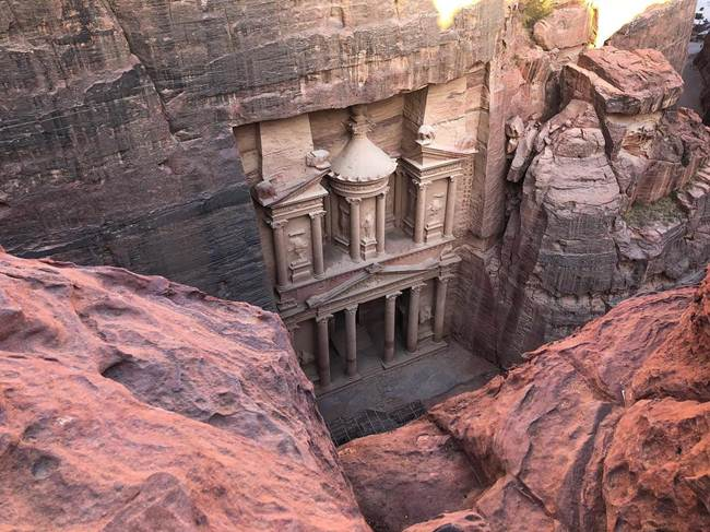 17. Temple Mausoleum of Al Khazneh, Petra, Jordan
