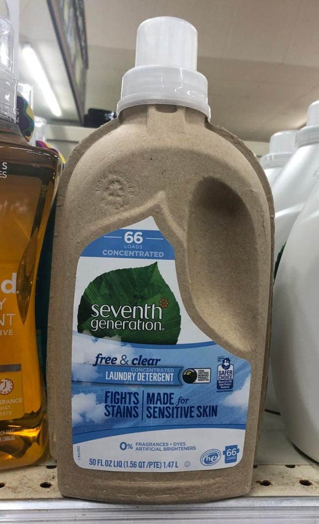 4. Detergent in environmentally friendly carton